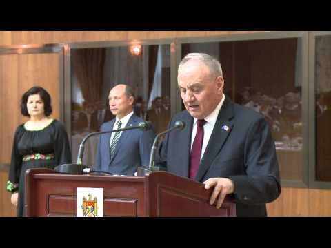 Discursul Preşedintelui Republicii Moldova, dl Nicolae Timofti, la recepția consacrată Zilei Independenței
