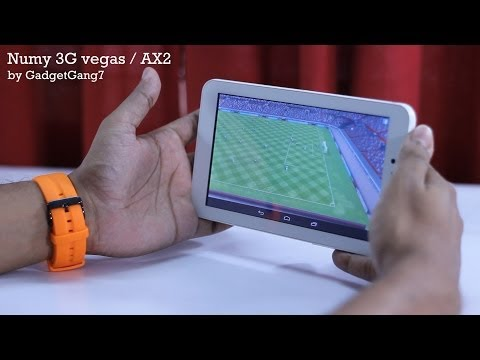 Ainol Numy 3G Vegas or AX2 Unboxing and full review