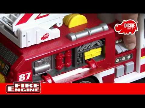Dickie Пожарная машина, со светом и звуком арт. 3448331