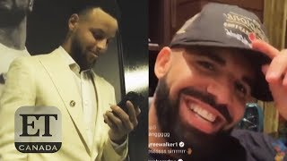 Drake FaceTimes Steph Curry After Raptors Win