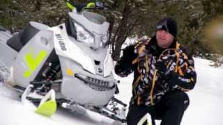 8. TEST RIDE: 2014 Ski-Doo Summit Freeride 154