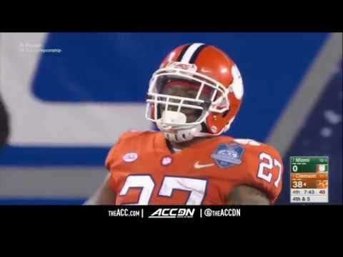 Miami vs  Clemson Tigers  ACC Football Championship Condensed Game 2017 (видео)
