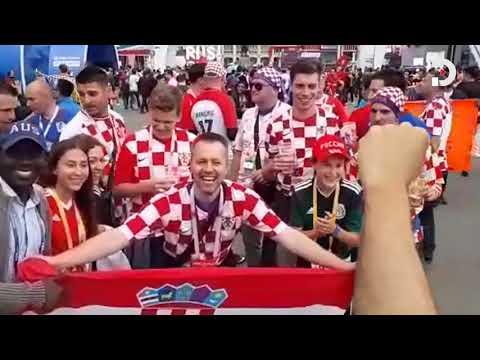 England, Croatia fans gear up for FIFA World Cup semis