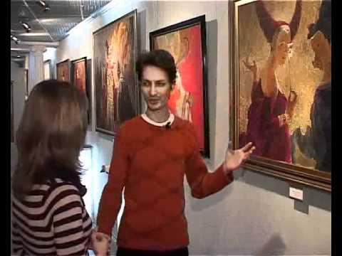 Выставка Романа Белянина в галерее искусств Эстетика