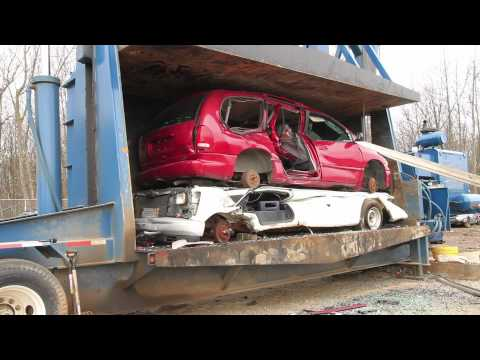 destruction; - We give you an inside look at the carnage that can happen in just one hour at a junkyard. For the impatient types, head to 49:18 to see the speedy version! S...