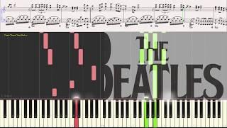 Let it be - Richard Clayderman (Ноты и Видеоурок для фортепиано) (piano cover)