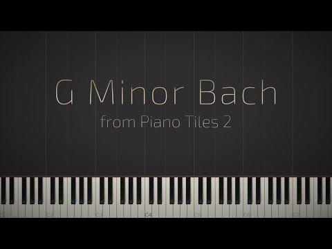 G Minor Bach - Piano Tiles 2 \\ Synthesia Piano Tutorial \\ Jacob's Piano
