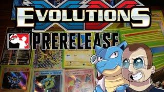 Pokemon TCG EVOLUTIONS PreRelease Openings! Great PreRelease Pulls! by Papa Blastoise