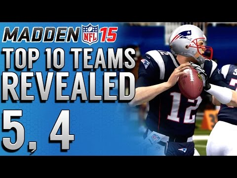 4 - Madden 15 Top 10 Most Exciting Teams to Play With Online & Offline With Mut Gameplay. Still waiting on Madden 15 Ultimate Team Info in madden 15 in preparati...