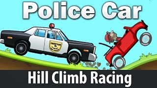 Police Car - Hill Climb Racing games : Cartoon Сars for kids Android HD