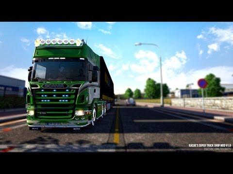 KacaK's Super Truck Shop Mod v1.0