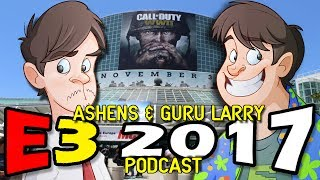 Another year and another E3 podcast from Ashens and Larry,   what did the two think of this year's entry?Subscribe to Larry!!!http://www.youtube.com/subscription_center?add_user=LarryBundyJrAnd to Ashens!!!http://www.youtube.com/subscription_center?add_user=AshensPatreon: http://www.patreon.com/LarryTwitter: https://twitter.com/LarryBundyJrFacebook: https://www.facebook.com/groups/28124030222/Tumblr: http://gurularry.tumblr.com/Twitch.TV: http://www.twitch.tv/gurularry