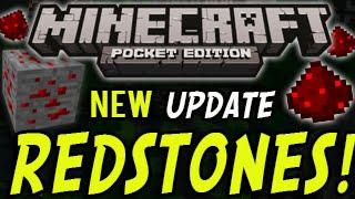 Minecraft Pocket Edition - Redstone, Redstone Block, Redstone Torches + MORE NEWS