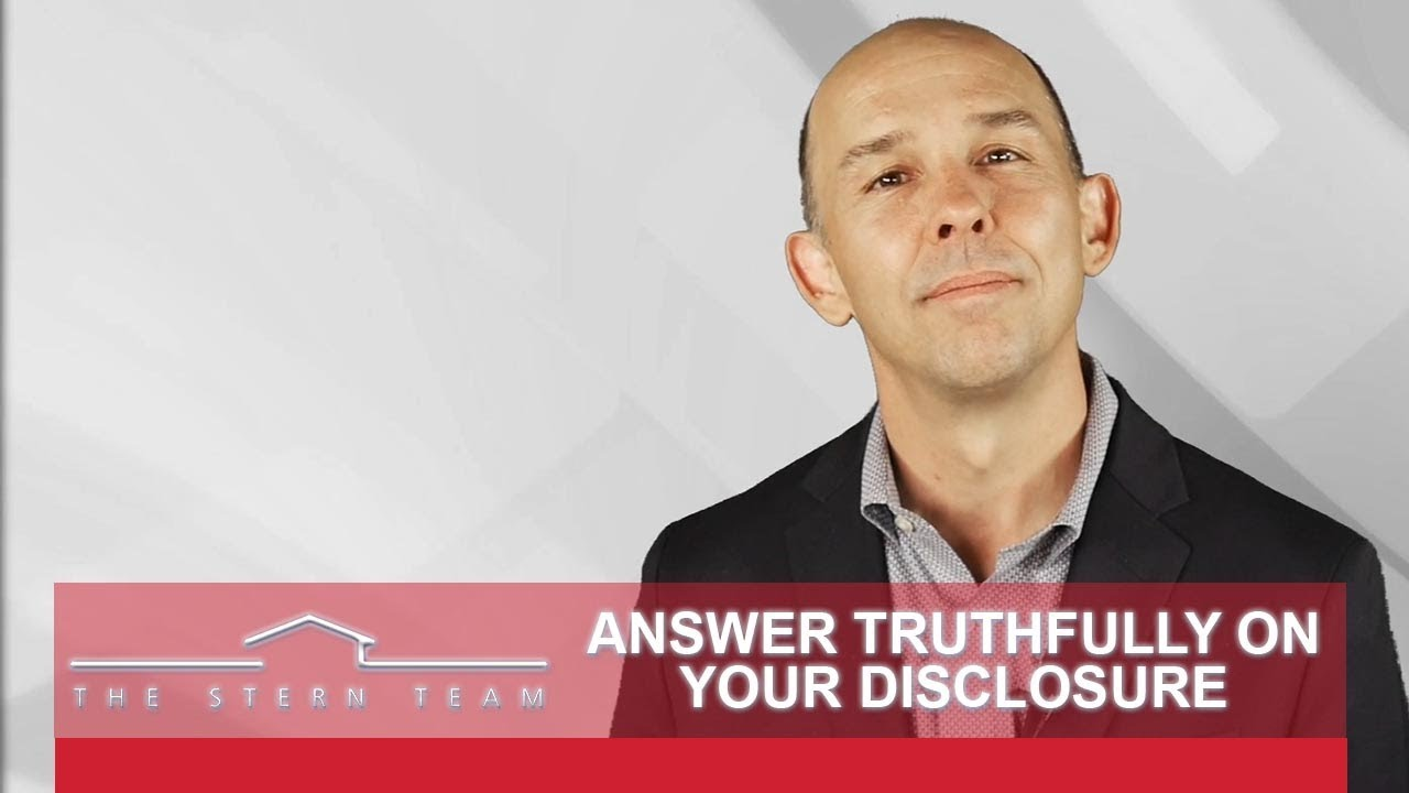 Do Not Be Afraid to Disclose Everything When You Sell Your Home