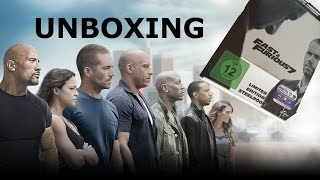 Nonton Fast and Furious 7 - Limited Steelbook Cover B (Media Markt Exclusive) - Unboxing - German Deutsch Film Subtitle Indonesia Streaming Movie Download