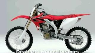 10. 2009 Honda CRF 450R Specs