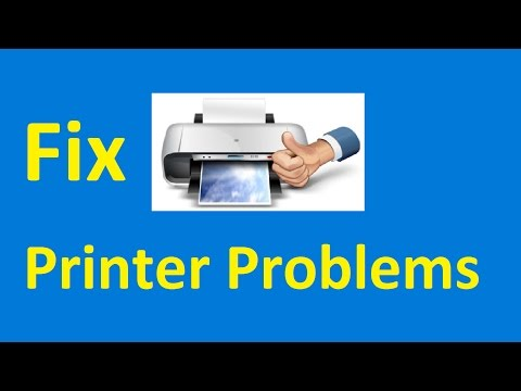 Windows 10 printer problems!! Fix - Howtosolveit
