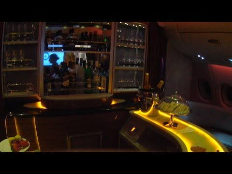 A380 ROME to KOH SAMUI – EMIRATES and BANGKOK AIRWAYS Business Class-11 03 2015