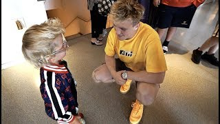 Mini Jake Paul Shows Jake Paul HOW TO FLEX!!