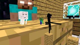 Monster School: Acrobatics - Minecraft Animation