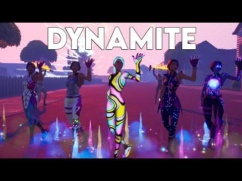 BTS (방탄소년단) - Dynamite | Official Fortnite Music Video | Remix