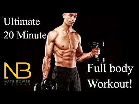 Ultimate 20 Minute In Home Full Body Workout