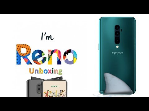 Oppo Reno Unboxing with a Shark Fin Pop up Camera