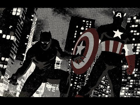 CAPTAIN AMERICA and BLACK PANTER vs NAZI ALIEN Ultimate Avengers 2 Rise Of The Panther part 18
