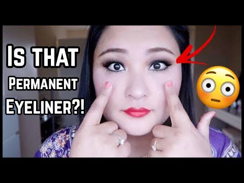 (MY PERMANENT EYELINER | QUESTIONS... 11 minutes.)