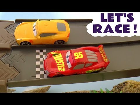 Disney Cars 3 Stories with Lightning McQueen & Cruz Ramirez