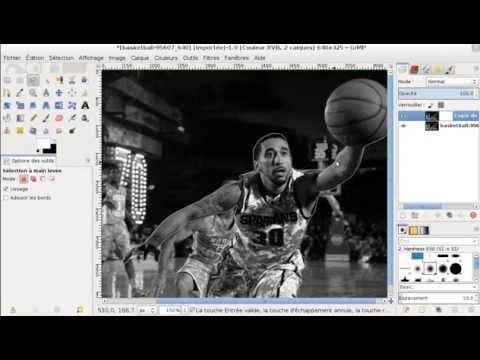 comment colorier une image noir et blanc