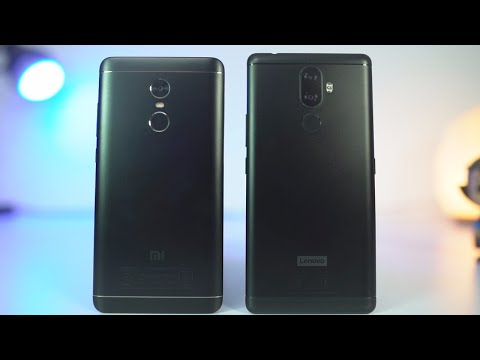 Lenovo K8 Note vs Redmi Note 4 Speed Test