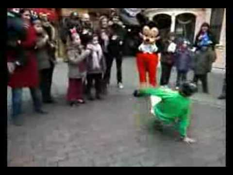 Mickey Mouse gets served