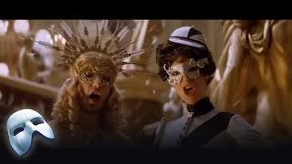 The Masquerade Ball begins. From The Phantom of the Opera: The Film. Starring Ciaran Hinds, Simon Callows, Emmy Rossum, Patrick Wilson. Clip 24/37.