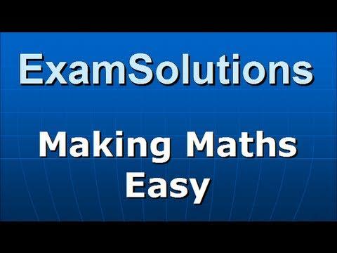 Trigonometrie: Nachweis eines cos x + B sin x = R cos (x - a): ExamSolutions