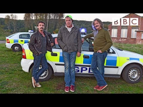 Jeremy Clarkson takes part in a Police chase | Top Gear - BBC Two