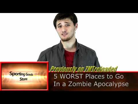 Zombies VS Living People (Zombie Survival Guide)