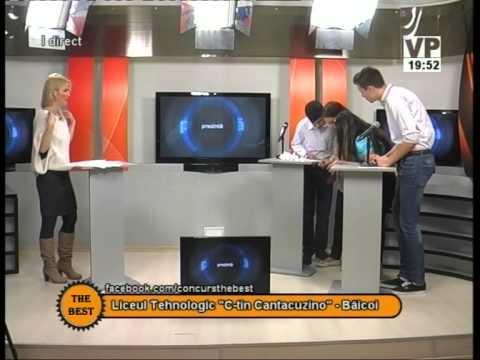 Preselecții The Best – 20 octombrie 2014 (III) – Liceul Tehnologic Constantin Cantacuzino Băicoi