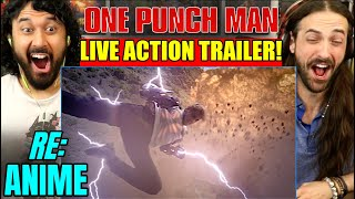 ONE PUNCH MAN LIVE ACTION TRAILER - Saitama VS Genos | RE:Anime - REACTION! by The Reel Rejects