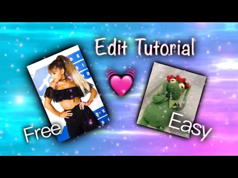 EASY AND FREE Video Star edit tutorial (видео)