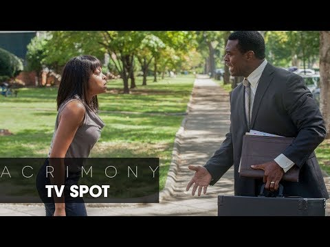"""Tyler Perry's Acrimony (2018 Movie) Official TV Spot – """"Fury"""""""