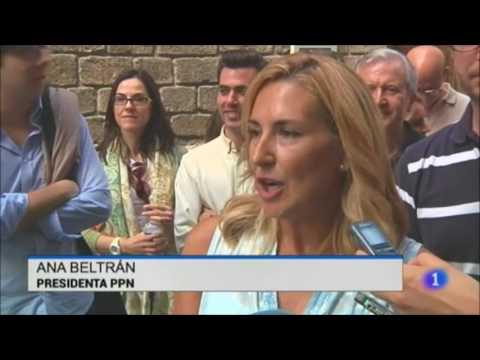 """Ana Beltrán: """"Bildu no quiere la Alta Velocidad en Navarra y se dedica a chantajear al Gobierno foral con la complacencia de Podemos e I-E"""""""