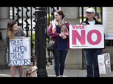 Ireland's abortion referendum: Too close to call? (видео)