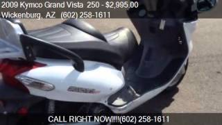 7. 2009 Kymco Grand Vista  250  for sale in Wickenburg, AZ 8539