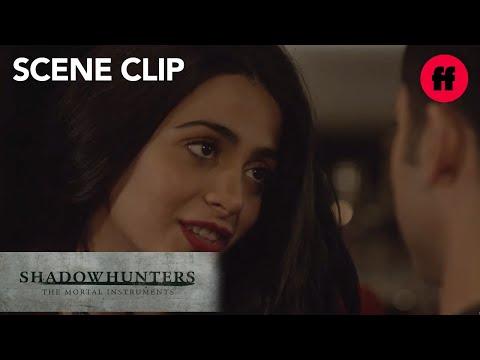 Shadowhunters | Season 2, Episode 10: Raphael Admits His Feelings To Izzy | Freeform