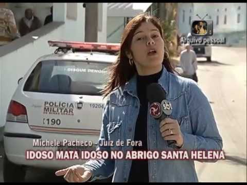 Juiz de Fora - Um idoso matou o outro nessa manh, no Abrigo Santa Helena, em Juiz de Fora. Ele afirmou que usou um andador para matar o companheiro.