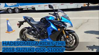 5. HadesOmega Rides the 2018 Suzuki GSX-S1000F