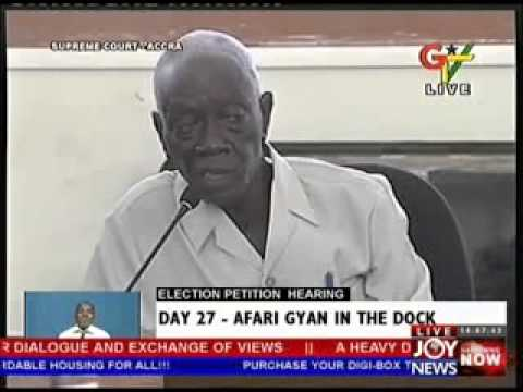 Election Petition Hearing on Joy News -  Day 27 (4-6-13)