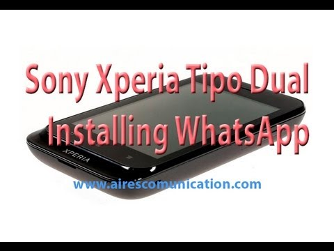 comment installer whatsapp sur xperia z