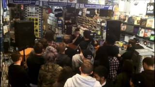 Blood Youth in-store at Banquet Records